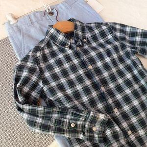 Ralph Lauren Plaid Dress Shirt H&M Set Spring Gift